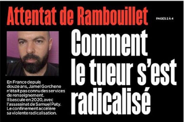 Rambouillet - Attentat - Jamal Gorchene