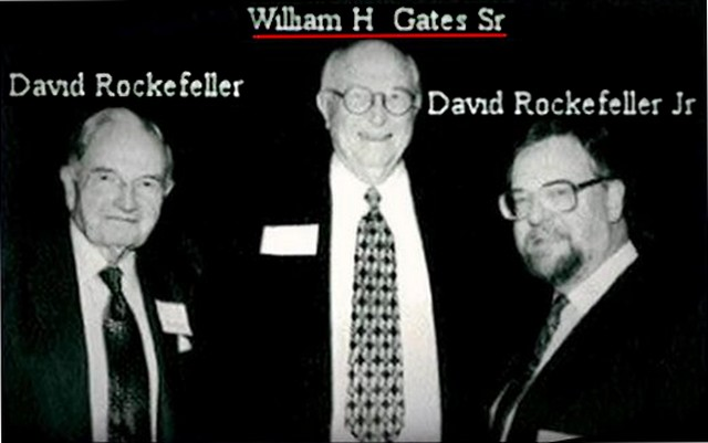 William Henry Gates II et les Rockfeller