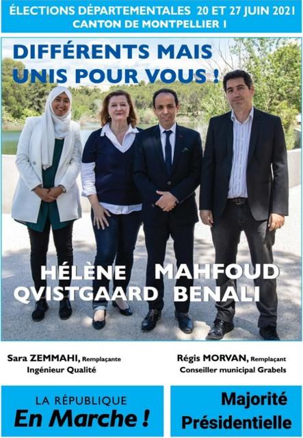 Candidats LREM Montpellier
