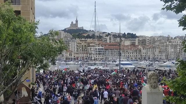 Marseille - Manifestation pro-Palestiniens - Marseille mai 2021