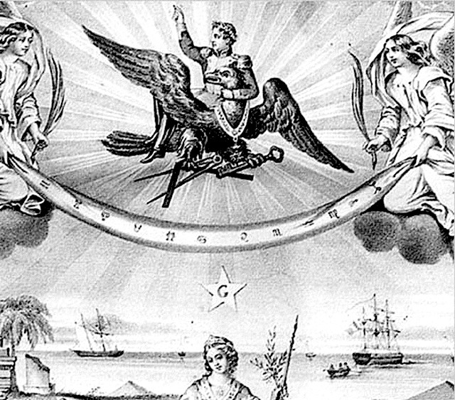 Napoléon - Nid aigle - Franc-maçon
