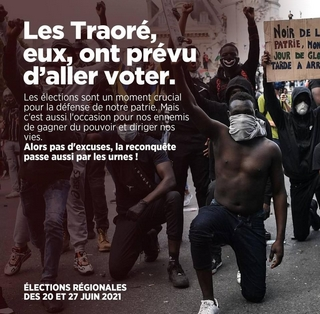 Traoré - Affiche -Aller voter