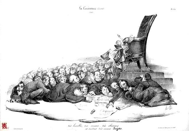 Honoré Daumier - Voraces sujets