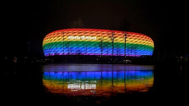 Stade Allianz Munich - LGBT