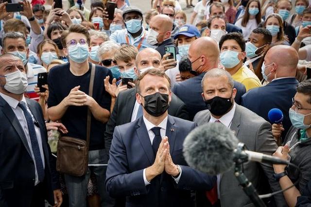 Macron Lourdes - Juillet 2021