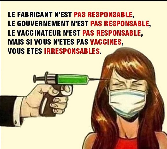 Vaccin : Personne responsable