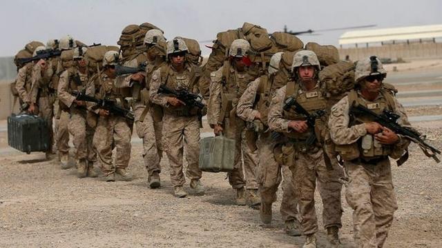 Troupes américaines