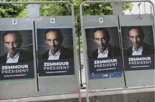 Zemmour Président - Premières affiches - Juin 2021