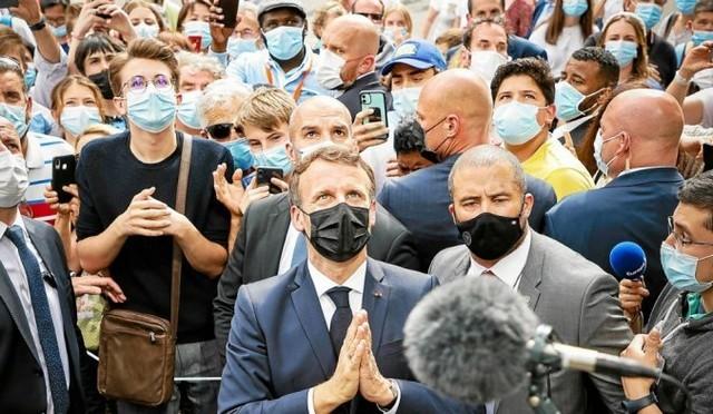 Macron - Prière - Lourdes - Juillet 2021