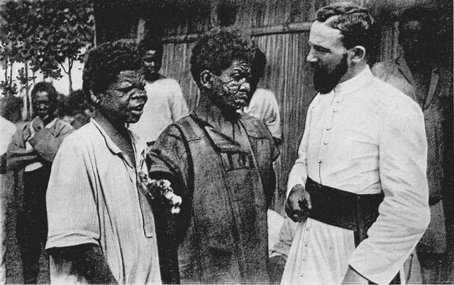 Madagascar - Missionnaire chez les lépreux