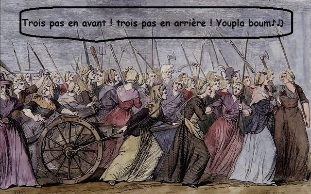 Marche femmes - Révolution