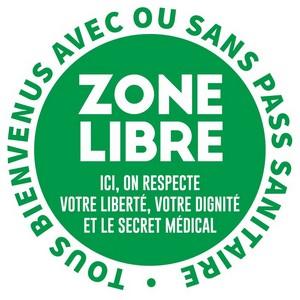 tous bienvenus avec ou sans pass sanitaire logo